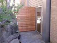 timber privacy screen sydney