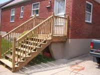 timber stairs & railings