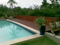 timber pool decking sydney