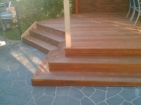 outdoor timber stairs sydney