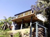 elevated timber decking sydney