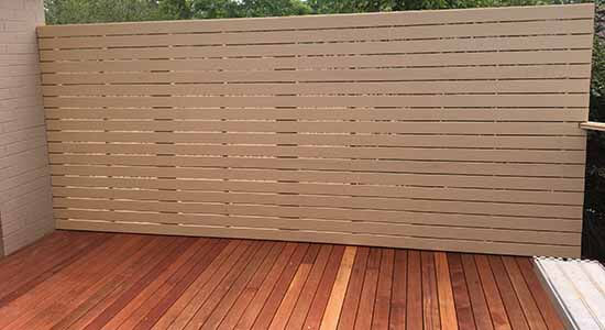 privacy screen & decking sydney